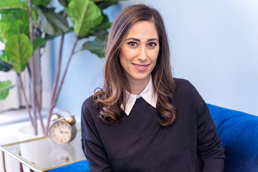 This is practical psychologist Dr Tara Emrani