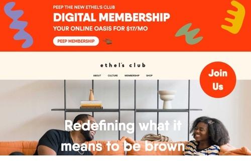 Ethels membership