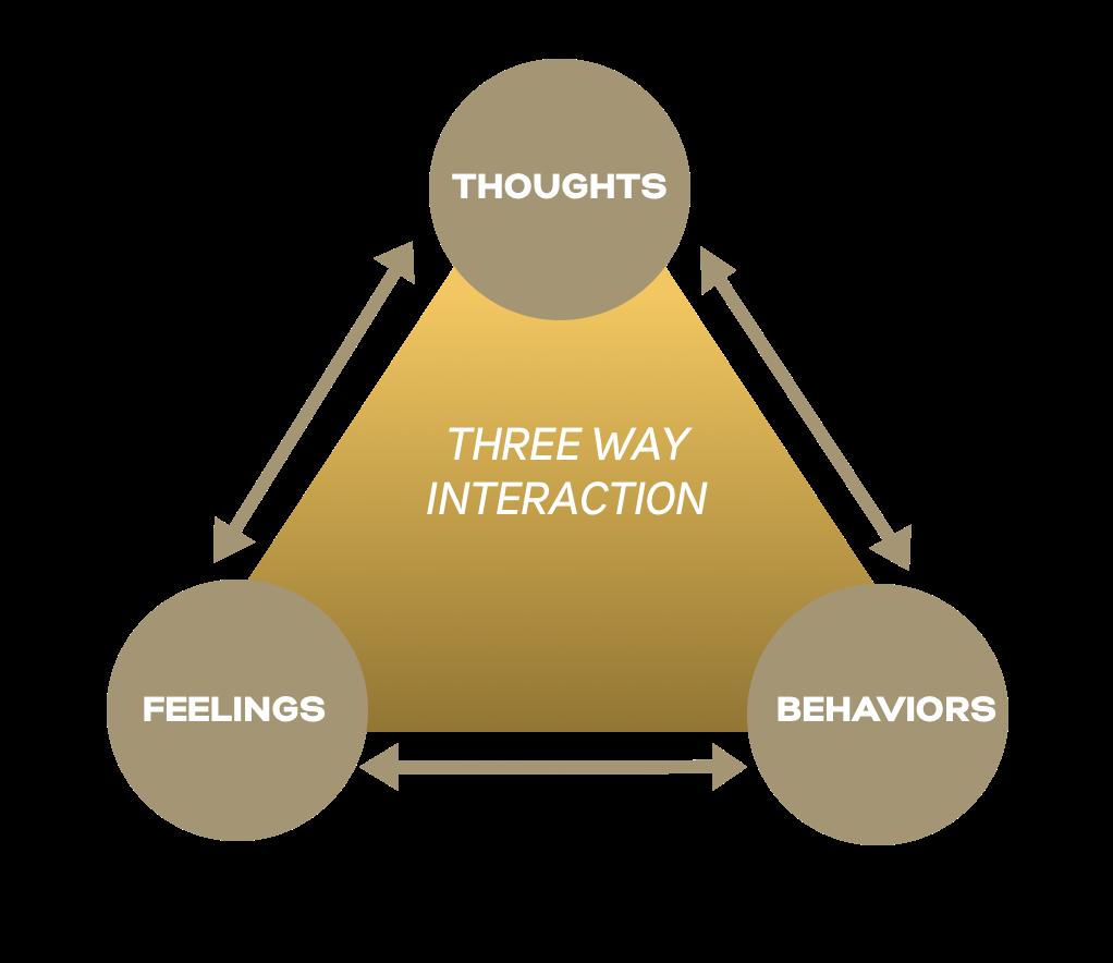 three way emotional reaction